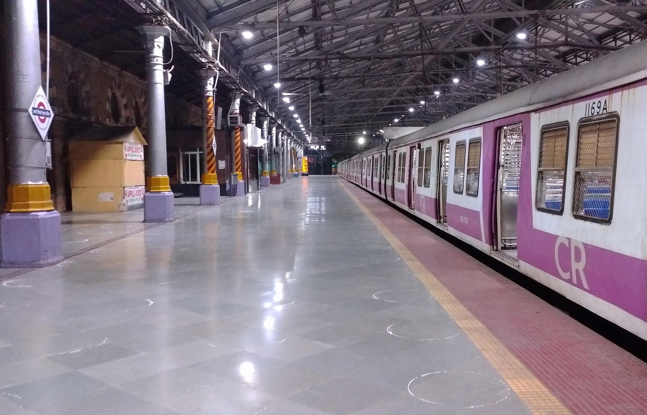 Mumbai local platforms