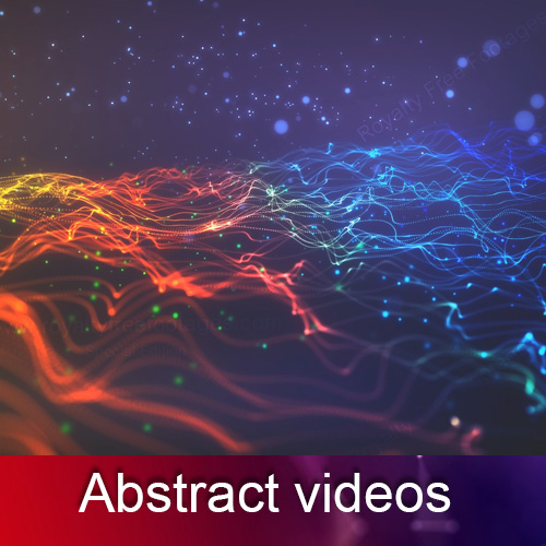 Abstract  videos