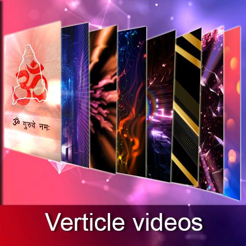 Verticle videos